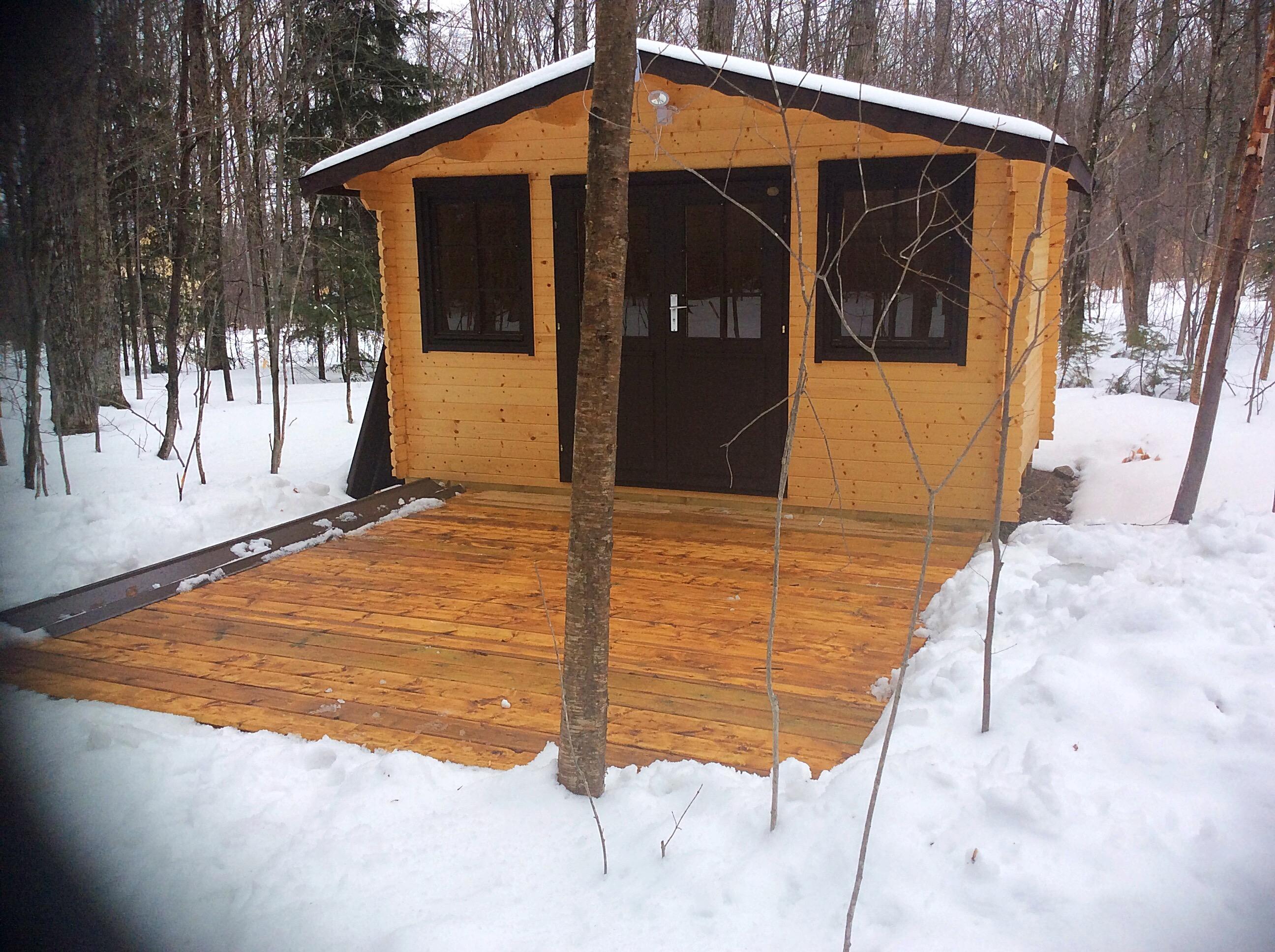Camping Cabins   Madawaska Lodge
